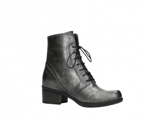 wolky lace up boots 01377 forth 81280 metal grey leather_15