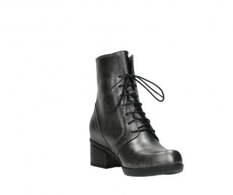 wolky lace up boots 01377 forth 81280 metal grey leather_17