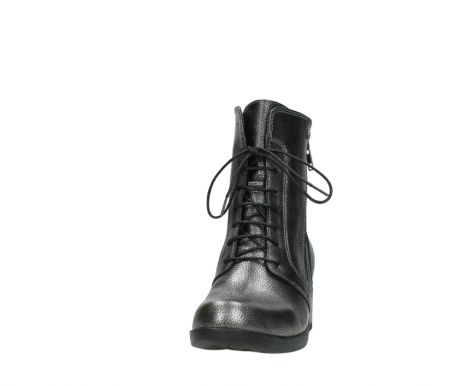 wolky lace up boots 01377 forth 81280 metal grey leather_20