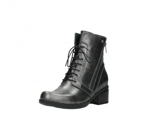 wolky lace up boots 01377 forth 81280 metal grey leather_22
