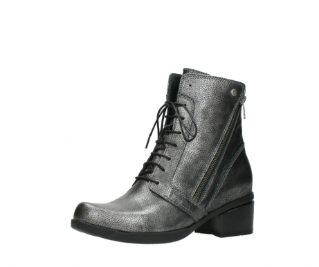 wolky lace up boots 01377 forth 81280 metal grey leather_23