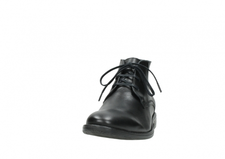 wolky lace up shoes 02181 montevideo 31000 black leather_20