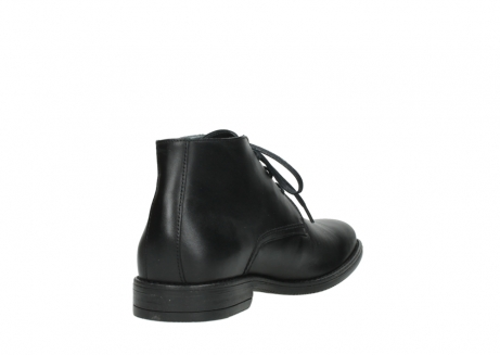wolky lace up shoes 02181 montevideo 31000 black leather_9