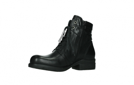 wolky ankle boots 02625 center 20000 black leather_11