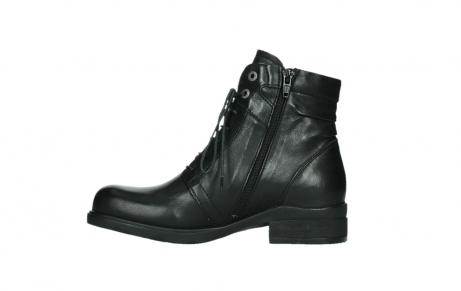 wolky ankle boots 02625 center 20000 black leather_13