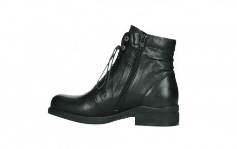 wolky ankle boots 02625 center 20000 black leather_14