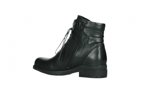 wolky ankle boots 02625 center 20000 black leather_15