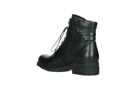wolky ankle boots 02625 center 20000 black leather_16