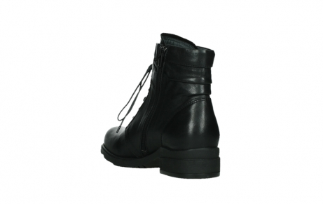 wolky ankle boots 02625 center 20000 black leather_17