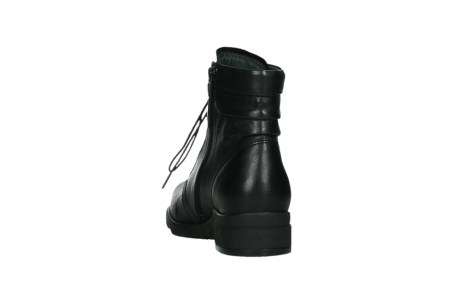 wolky ankle boots 02625 center 20000 black leather_18