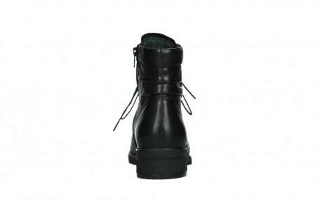 wolky ankle boots 02625 center 20000 black leather_19