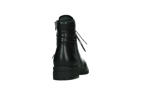 wolky ankle boots 02625 center 20000 black leather_20