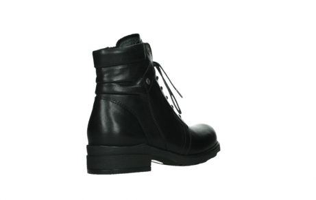 wolky ankle boots 02625 center 20000 black leather_22