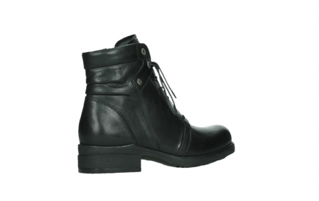 wolky ankle boots 02625 center 20000 black leather_23