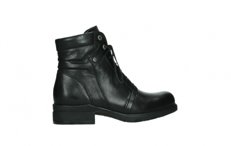 wolky ankle boots 02625 center 20000 black leather_24