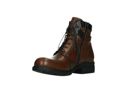 wolky ankle boots 02625 center 20430 cognac leather_10