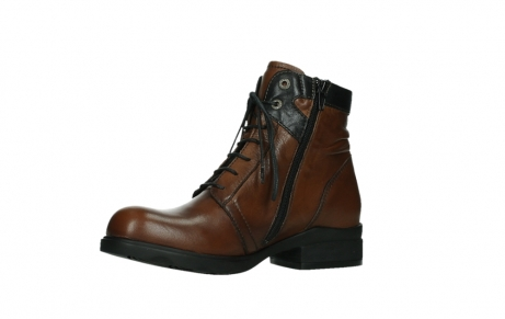 wolky ankle boots 02625 center 20430 cognac leather_11