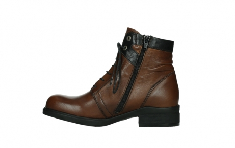 wolky ankle boots 02625 center 20430 cognac leather_13