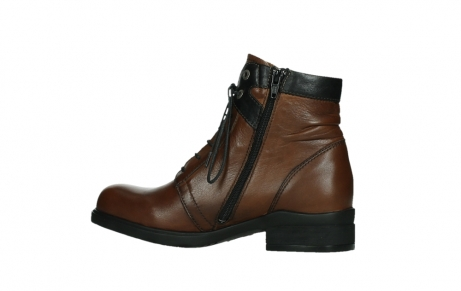 wolky ankle boots 02625 center 20430 cognac leather_14
