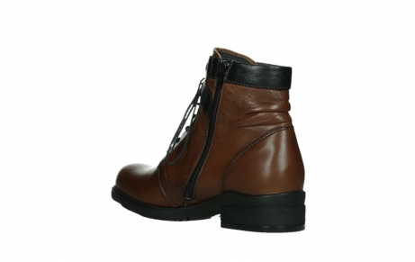 wolky ankle boots 02625 center 20430 cognac leather_16