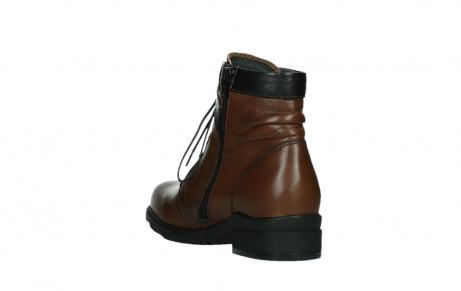 wolky ankle boots 02625 center 20430 cognac leather_17