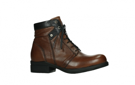 wolky ankle boots 02625 center 20430 cognac leather_2