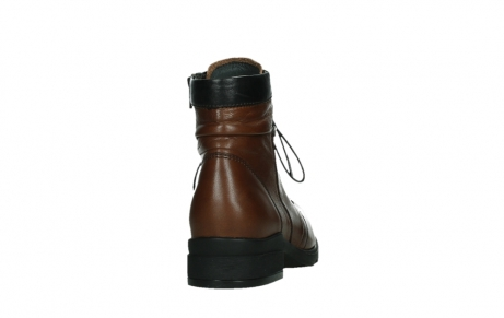 wolky ankle boots 02625 center 20430 cognac leather_20
