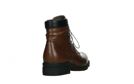 wolky ankle boots 02625 center 20430 cognac leather_21