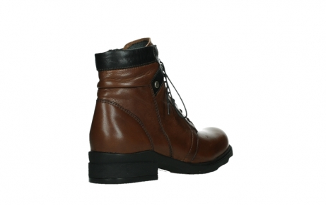 wolky ankle boots 02625 center 20430 cognac leather_22