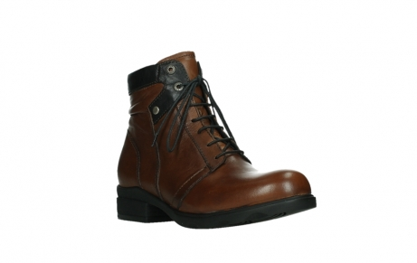 wolky ankle boots 02625 center 20430 cognac leather_4