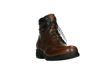 wolky ankle boots 02625 center 20430 cognac leather_5
