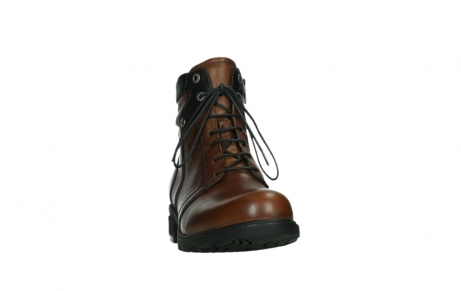 wolky ankle boots 02625 center 20430 cognac leather_6