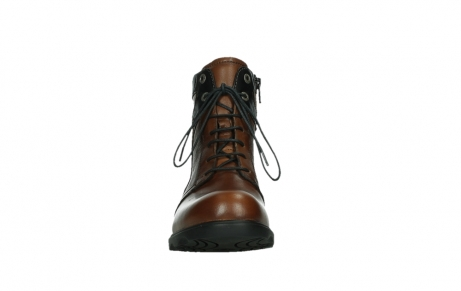 wolky ankle boots 02625 center 20430 cognac leather_7