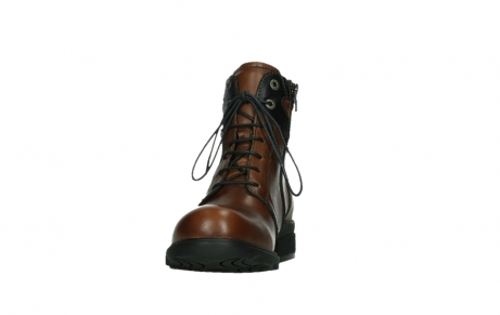 wolky ankle boots 02625 center 20430 cognac leather_8