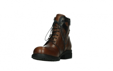 wolky ankle boots 02625 center 20430 cognac leather_9