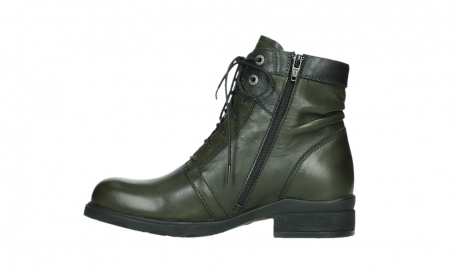 wolky lace up boots 02625 center 20730 forestgreen leather_13