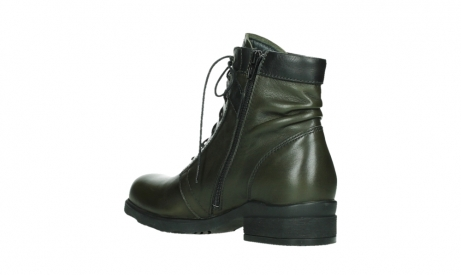 wolky lace up boots 02625 center 20730 forestgreen leather_16