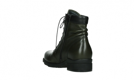 wolky lace up boots 02625 center 20730 forestgreen leather_17