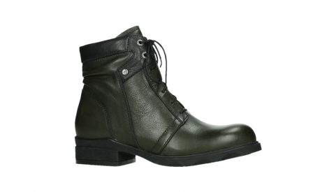 wolky lace up boots 02625 center 20730 forestgreen leather_2