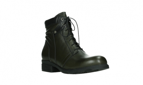 wolky lace up boots 02625 center 20730 forestgreen leather_4
