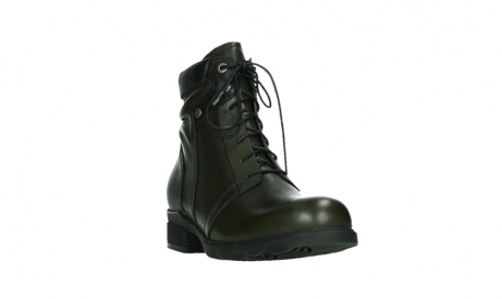 wolky lace up boots 02625 center 20730 forestgreen leather_5