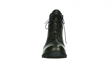 wolky lace up boots 02625 center 20730 forestgreen leather_7