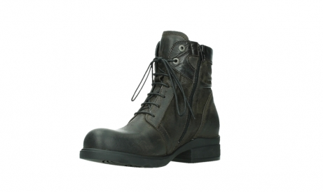 wolky ankle boots 02625 center 45305 dark brown suede_10
