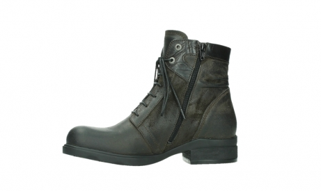wolky ankle boots 02625 center 45305 dark brown suede_12