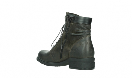 wolky ankle boots 02625 center 45305 dark brown suede_16