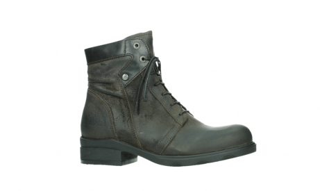 wolky ankle boots 02625 center 45305 dark brown suede_2