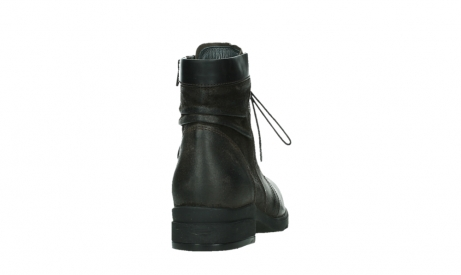wolky ankle boots 02625 center 45305 dark brown suede_20