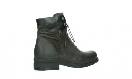 wolky ankle boots 02625 center 45305 dark brown suede_23