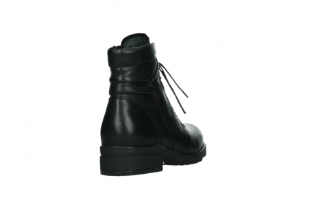 wolky ankle boots 02628 center wp 20000 black leather_21