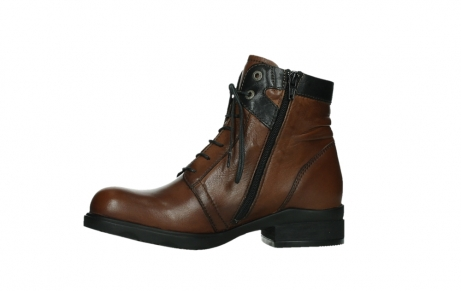 wolky ankle boots 02628 center wp 20430 cognac leather_12